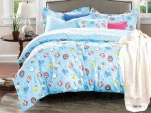 Комплект постельного белья Сатин для новорожденных детей Арт.55/048-sb