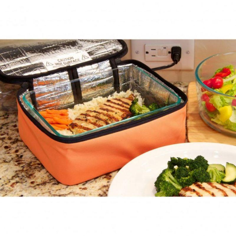 Термосумка Для Подогрева Еды Personal Portable Oven, Цвет Оранжевый
