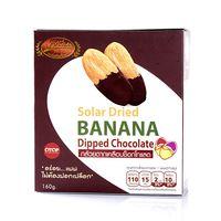 Ломтики вяленого банана в шоколадной глазури
