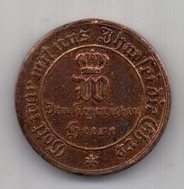 медаль 1870-1871 г. AUNC Пруссия (за победу над Францией)