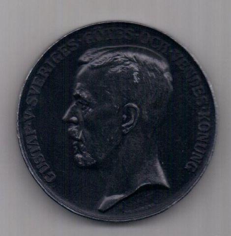 медаль 1907 г. AUNC Швеция