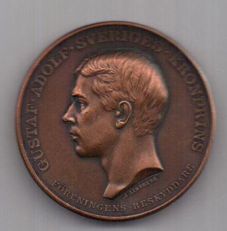 медаль 1913 г. AUNC Швеция