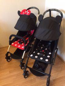 Прогулочная коляска Yoya Plus Mickey Mouse (Микки Маус)