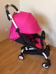 Прогулочная коляска Baby Throne (Розовая)