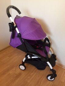 Прогулочная коляска Baby Throne (Фиолетовая)