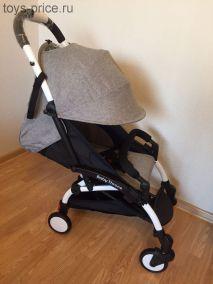 Прогулочная коляска Baby Throne (Серая)