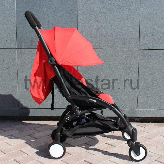 Прогулочная коляска YoYa 175 меланж красный + 11 подарков