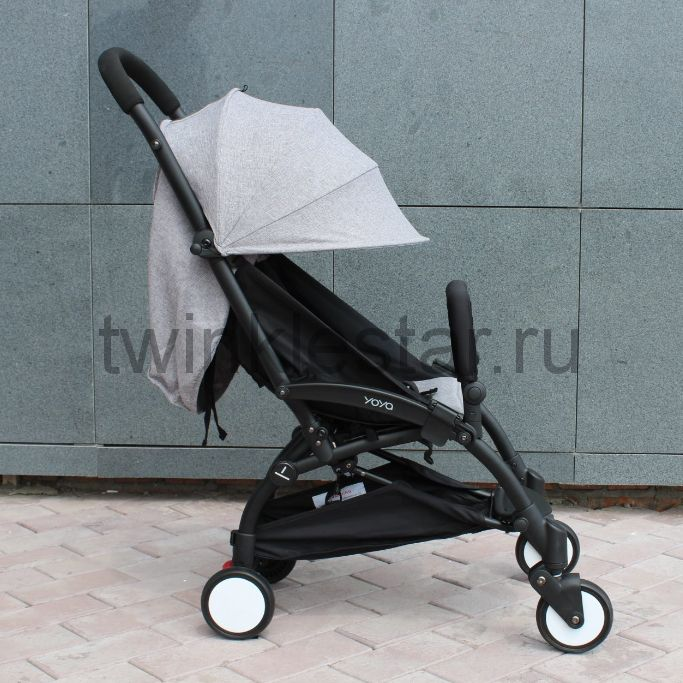 Прогулочная коляска YoYa 175 меланж серый + 11 подарков