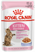 Royal Canin KITTEN STERILISED (в желе) (85 г)