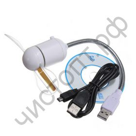 USB Вентилятор  с программируемым надписью TD-232 без кабеля и ПО