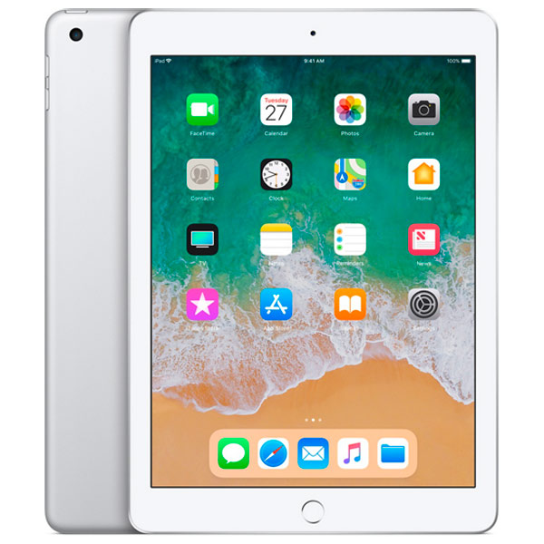 Apple iPad (2018) 128 ГБ Wi-Fi Серебристый