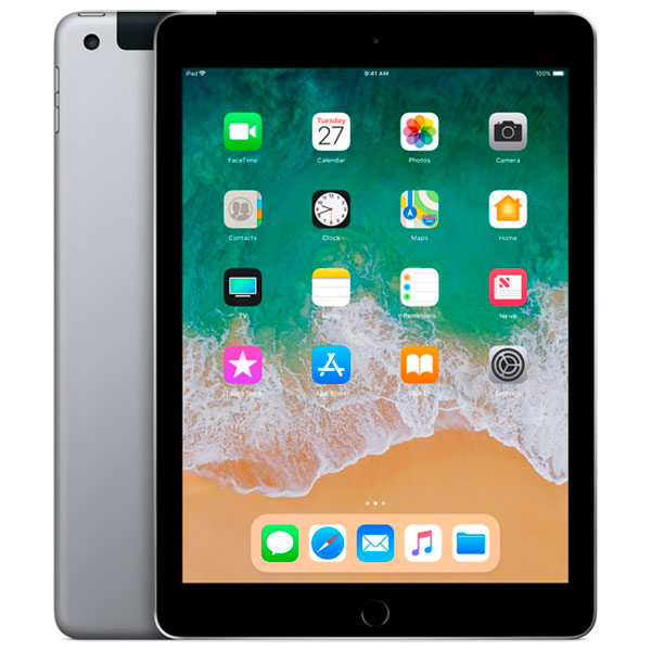 Apple iPad (2018) 32 ГБ Wi-Fi + Cellular «Серый космос»