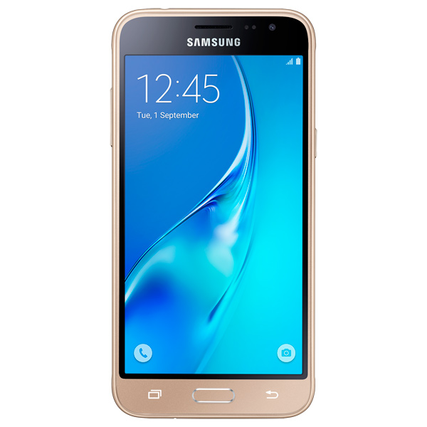 Samsung Galaxy J3 2016 DS (золотой)