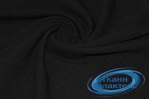 Трикотаж креп дайвинг VT-9718/C#17 черный