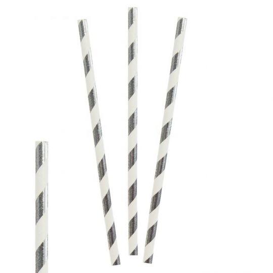 Трубочки Серебро