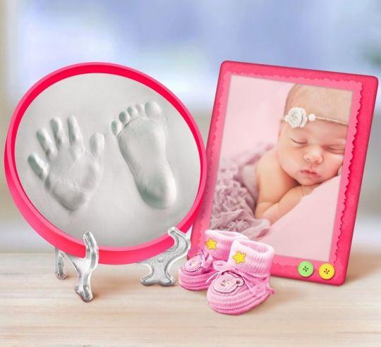 Классический набор для слепка ручки-ножки малышки