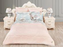 """Комплект для сна  с одеялом  """"KAZANOV.A""""  Марчиана  1.5-спальный   Арт.1325/1"""