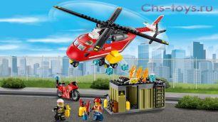 Конструктор Lari Город Пожарная команда быстрого реагирования 10829 (60108) 274 дет