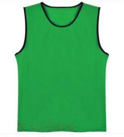 Манишка сетчатая детская зеленая