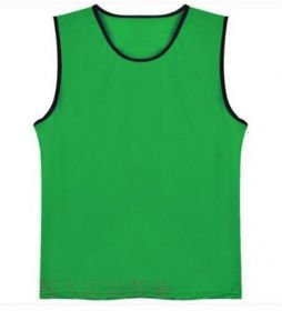 Манишка футбольная сетчатая Зеленая