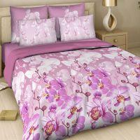 """Постельное бельё """"Красавица орхидея"""", рис.7345, бязь"""