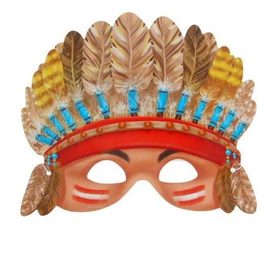 Маска вождя индейцев