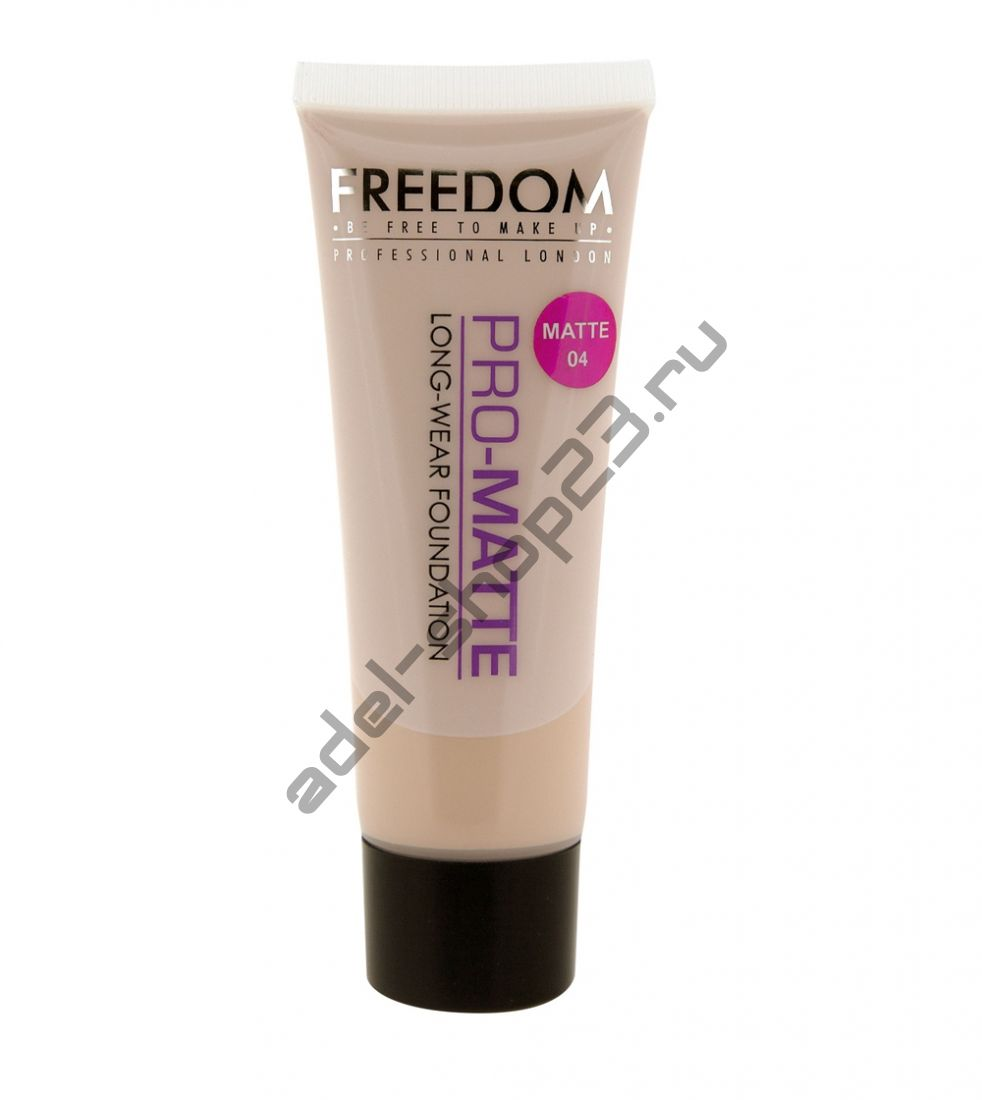 Freedom - Makeup London Pro Matte Foundation 04