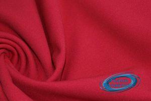 Трикотаж креп дайвинг VT-9718/C#4 ярко красный
