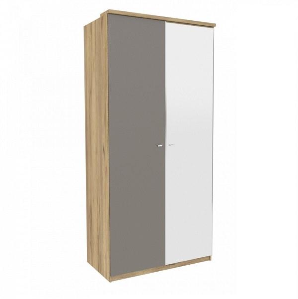 Шкаф двухстворчатый «Фиджи» с 1-м зеркалом