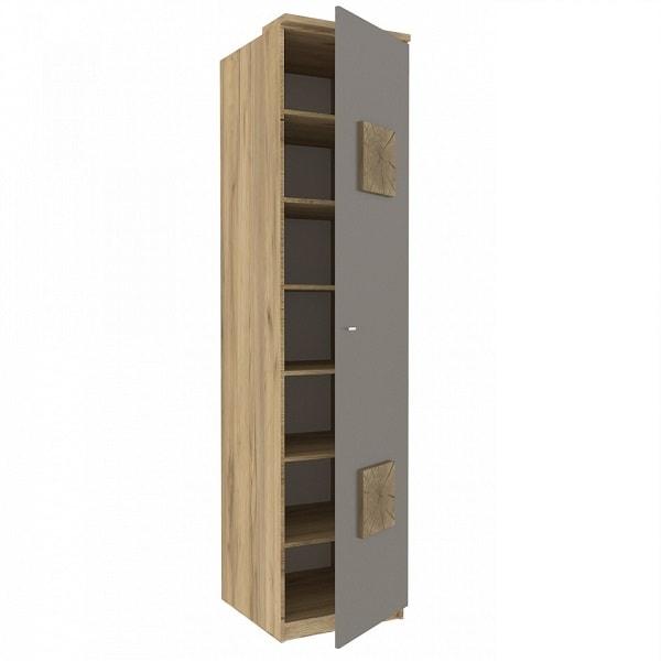 Шкаф «Фиджи» с декоративными накладками