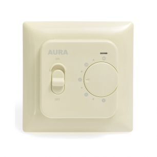 Регулятор температуры (терморегулятор) электронный AURA LTC 230 (кремовый)