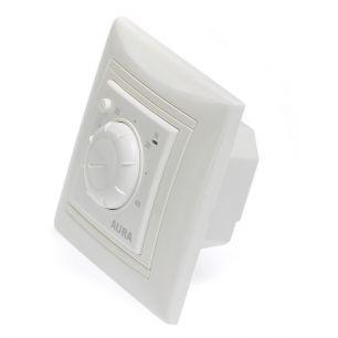 Регулятор температуры (терморегулятор) электронный AURA LTC 030 (белый) - простой регулятор в рамку Legrand Valena