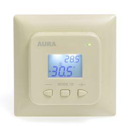 Регулятор температуры (терморегулятор) электронный AURA LTC 440 (кремовый)