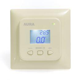 Регулятор температуры (терморегулятор) электронный AURA LTC 530 (кремовый)