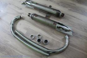 Выпускная система ИЖ-350