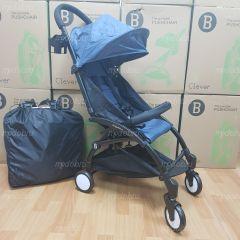 """Детская прогулочная коляска трансформер Yoya Babytime Синий Джинс """"Йойа беби тайм"""" купить в интернет магазине"""