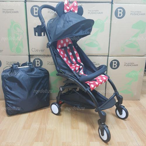 """Детская прогулочная коляска трансформер Yoya Babytime Minnie """"Йойа беби тайм"""""""