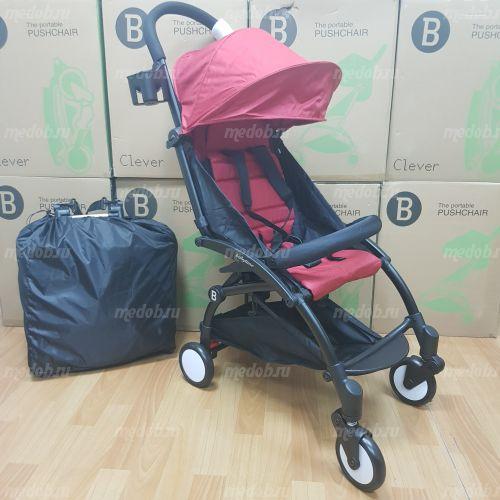 """Детская прогулочная коляска трансформер Yoya Babytime Красная """"Йойа беби тайм"""""""