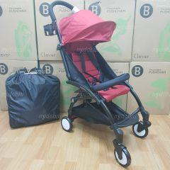 """Детская прогулочная коляска трансформер Yoya Babytime Красная """"Йойа беби тайм"""" купить в интернет магазине"""