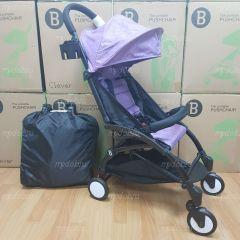 """Детская прогулочная коляска трансформер Yoya Babytime Фиолетовый """"Йойа беби тайм"""" купить в интернет магазине"""