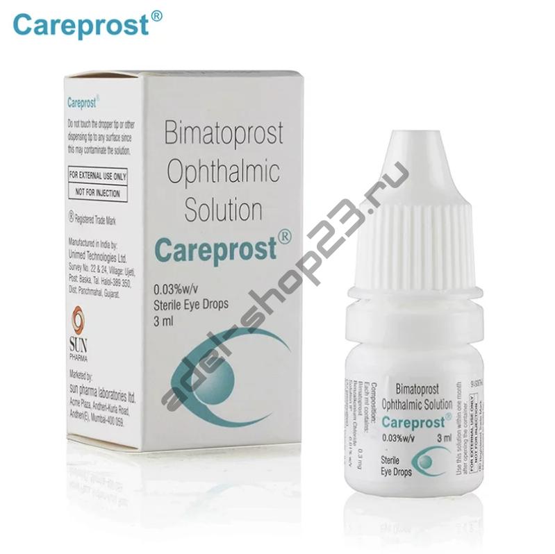 Careprost  - средство для роста ресниц
