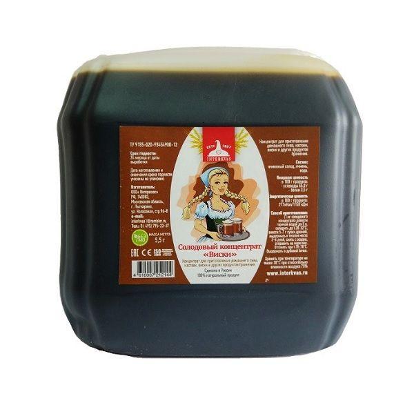 Солодовый концентрат Виски, 5,2 кг канистра