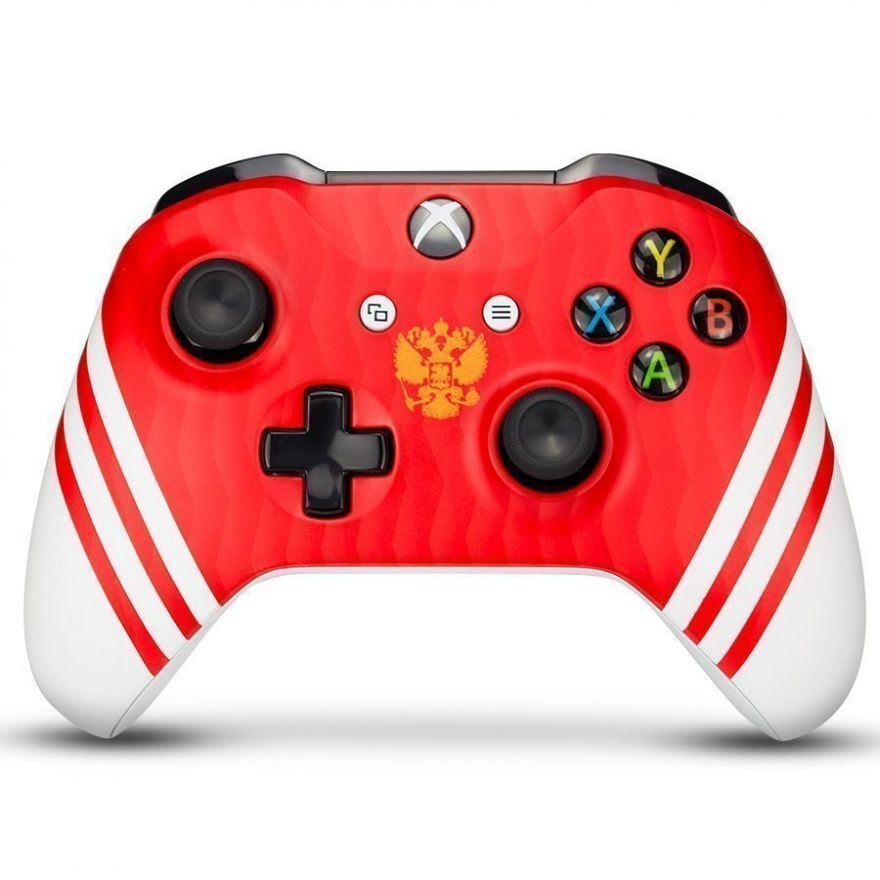 "Геймпад Microsoft Xbox One Wireless Controller National Team Russia ""Сборная России"""