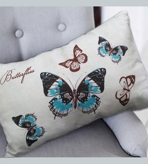 "Подушка ""Бабочки"" декоративная"