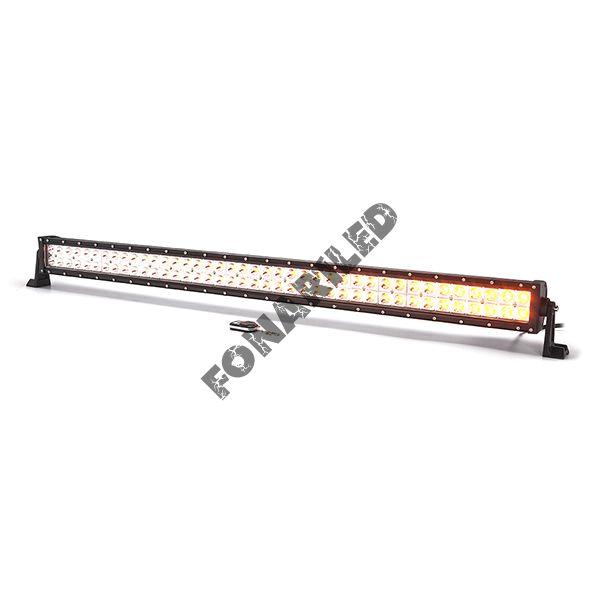 Двухцветная светодиодная балка DBWE-240W spot с Д/У пульт (дальний свет (длина 107 см)