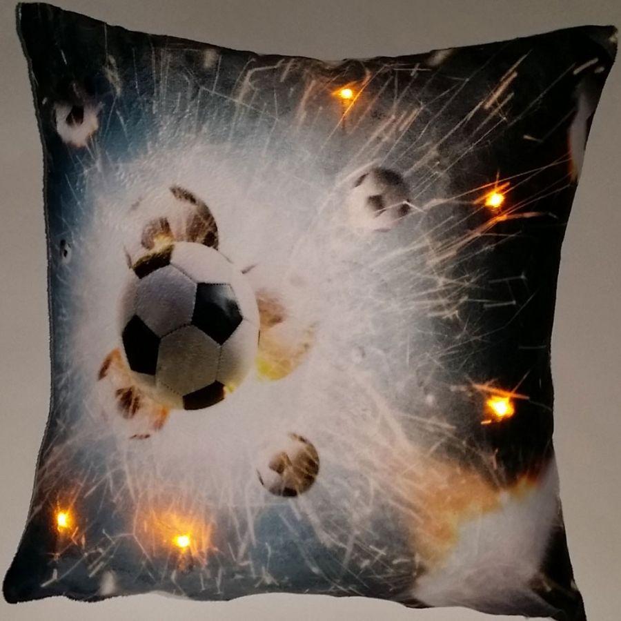 """Подушка """"Футбол-1"""", со светодиодами"""