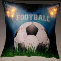 """Подушка """"Футбол-4"""", со светодиодами"""
