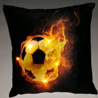 """Подушка """"Футбол-5"""", со светодиодами"""