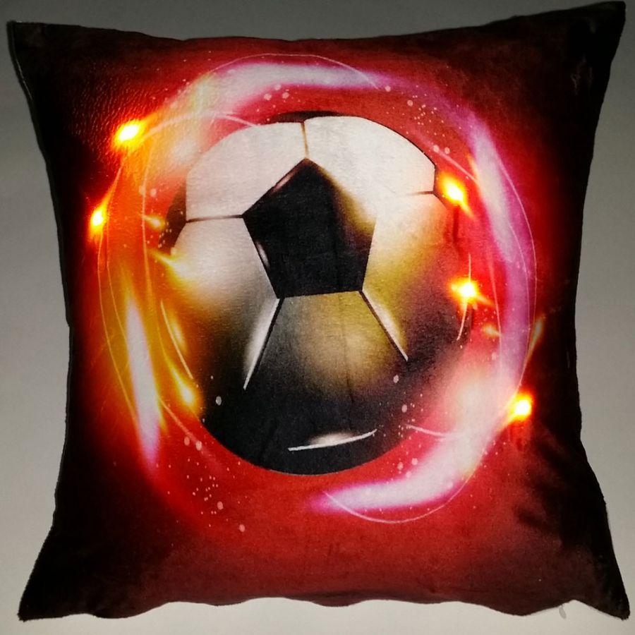 """Подушка """"Футбол-6"""", со светодиодами"""