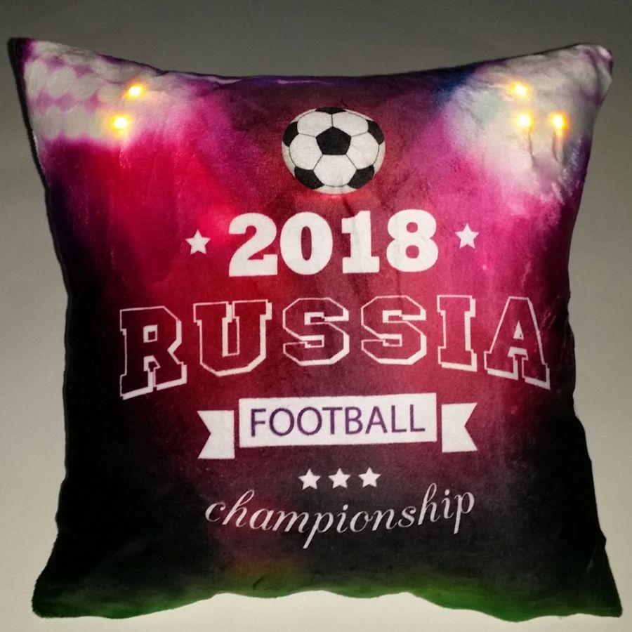 """Подушка """"Футбол-7"""", со светодиодами"""